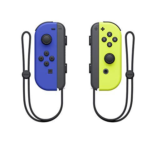 2x Nintendo Joy-Cons (blauw/zwart, geel/zwart)