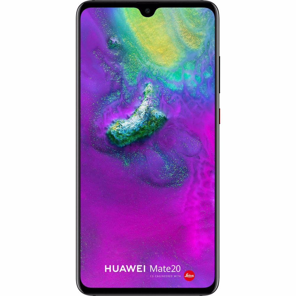 Huawei smartphone Mate 20 - zwart - android 9 - 128gb - 4gb werkgeheugen