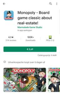 Google play - Monopoly- board game classic about real-estate!