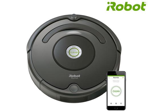 iRobot Roomba 676 Wifi Robotstofzuiger voor €179 ex. verz. bij Ibood