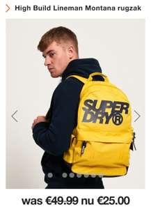 Superdry High Build Lineman Montana rugzak