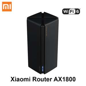 Xiaomi Router AX1800 (WiFi 6/WPA3) @AliExpress