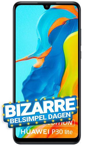 Huawei P30 Lite New Edition Black 256GB (€21,50 p/m bij een 2 jarig abonnement, 8 GB data p/m + onbeperkt bellen) [BEN via Belsimpel]