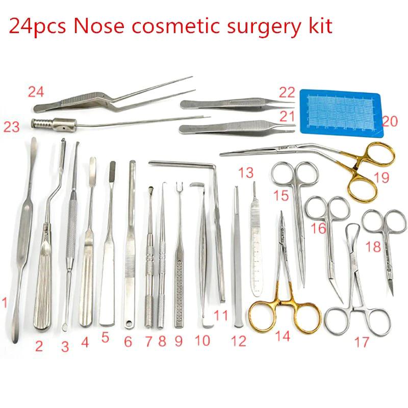 24-delige DIY plastisch chirurgie set voor neuscorrecties@Ali