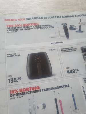 Philips Airfryer HD9260/90 XL @mediamarkt (27 juli t/m 2 aug)