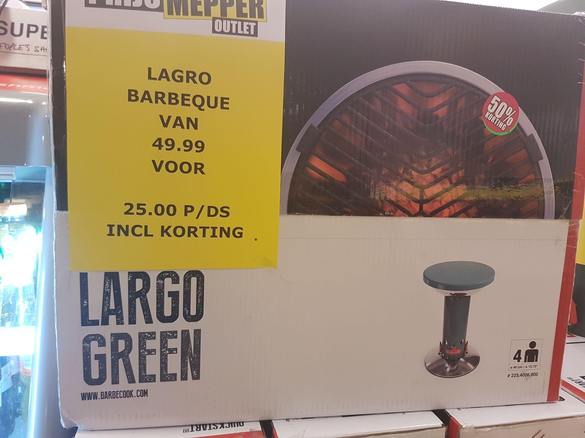 Barbecook Lagro Green @prijsmepper Delft