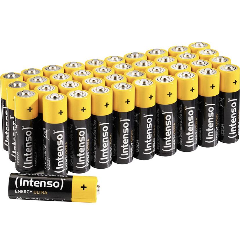 Intenso AA batterijen 40 stuks
