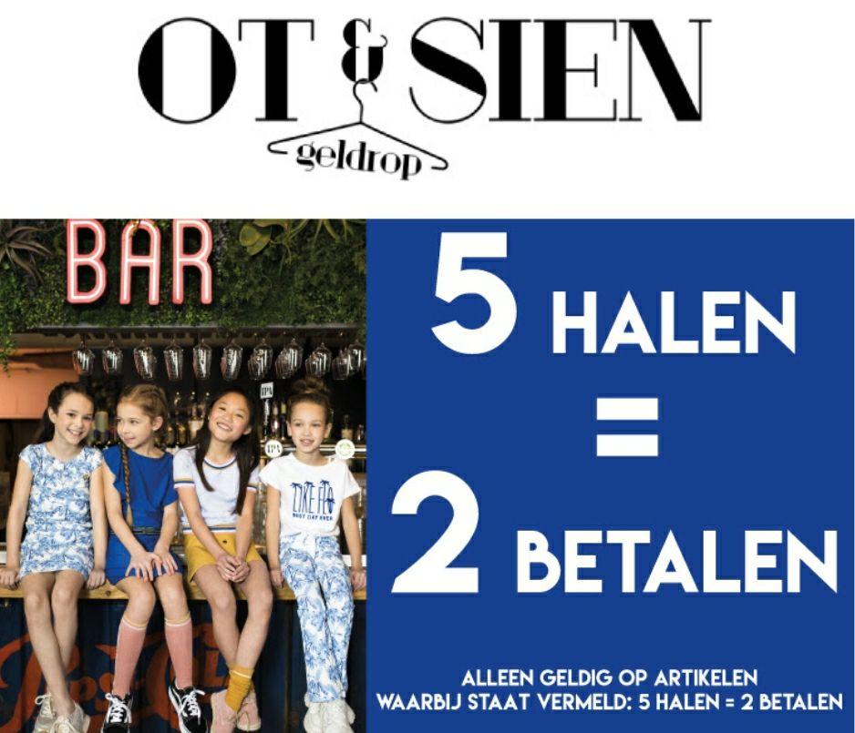 Kinderkleding 5 halen 2 betalen bij Ot & Sien