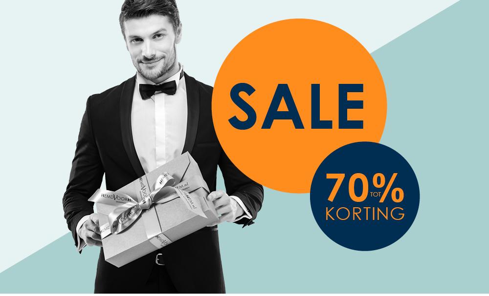 Sale tot 70% bij HemdVoorHem.nl