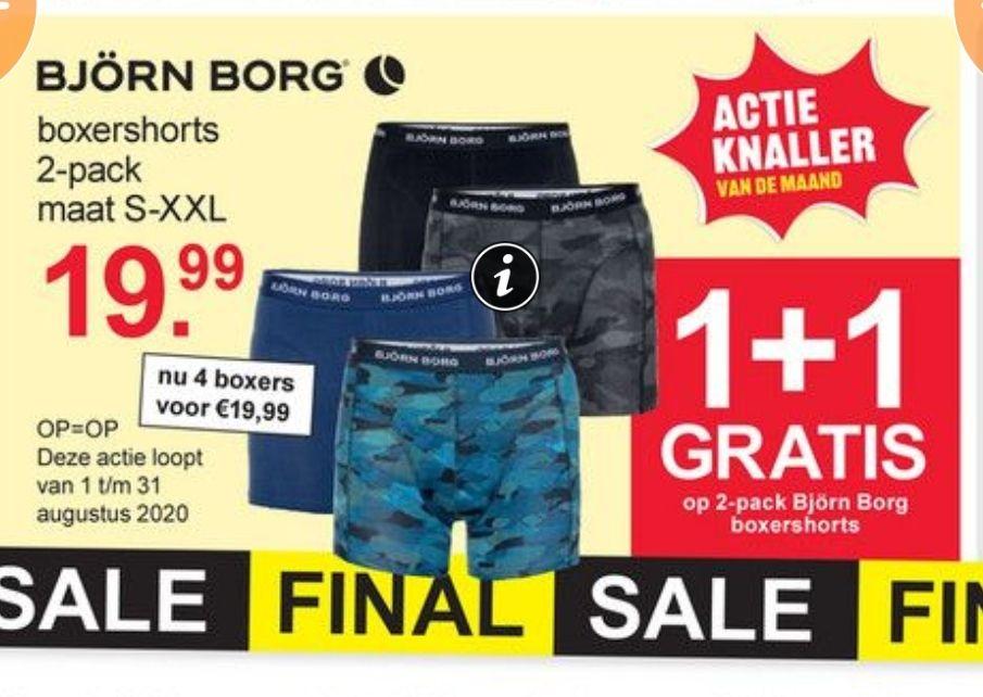 Björn Borg boxershorts Scapino