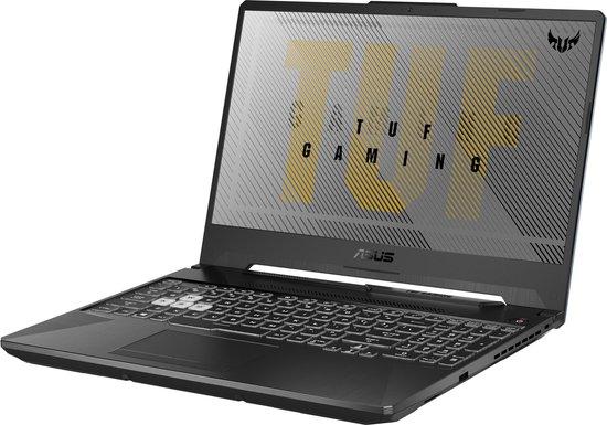ASUS TUF Gaming FX506IV met RTX 2060 en AMD 4800H [ AZERTY Toetsenbord ]