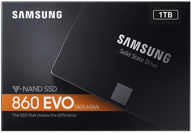 Samsung 860 EVO 1TB (MZ-76E1T0B/EU) via Amazon.nl