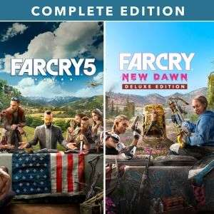Far Cry® 5 + Far Cry® New Dawn Complete Edition (PS4) @Playstation Store