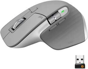 Logitech MX Master 3 Advanced Wireless Mouse - Lichtgrijs