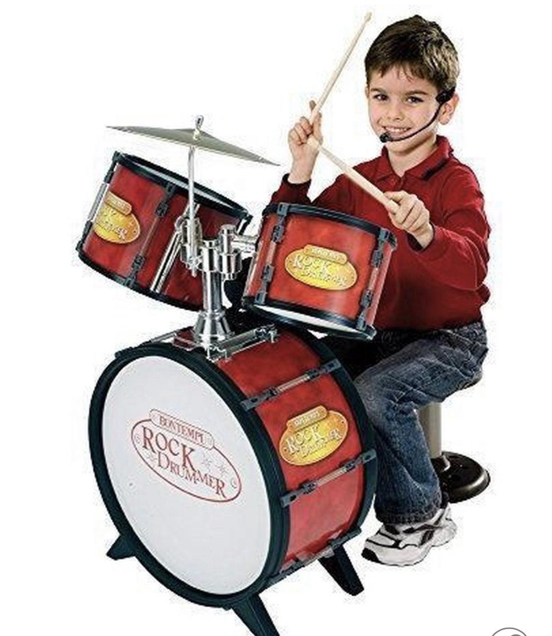 Bontempi Drumstel voor kinderen @ Bol.com plaza