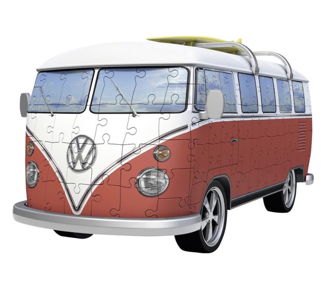 Ravensburger Volkswagen bus T1 bulli - 3D puzzel - 162 stukjes @ Bol.com