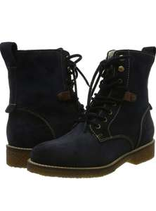 Tamaris Dames Laarsje blauw (Navy) @ amazon.nl