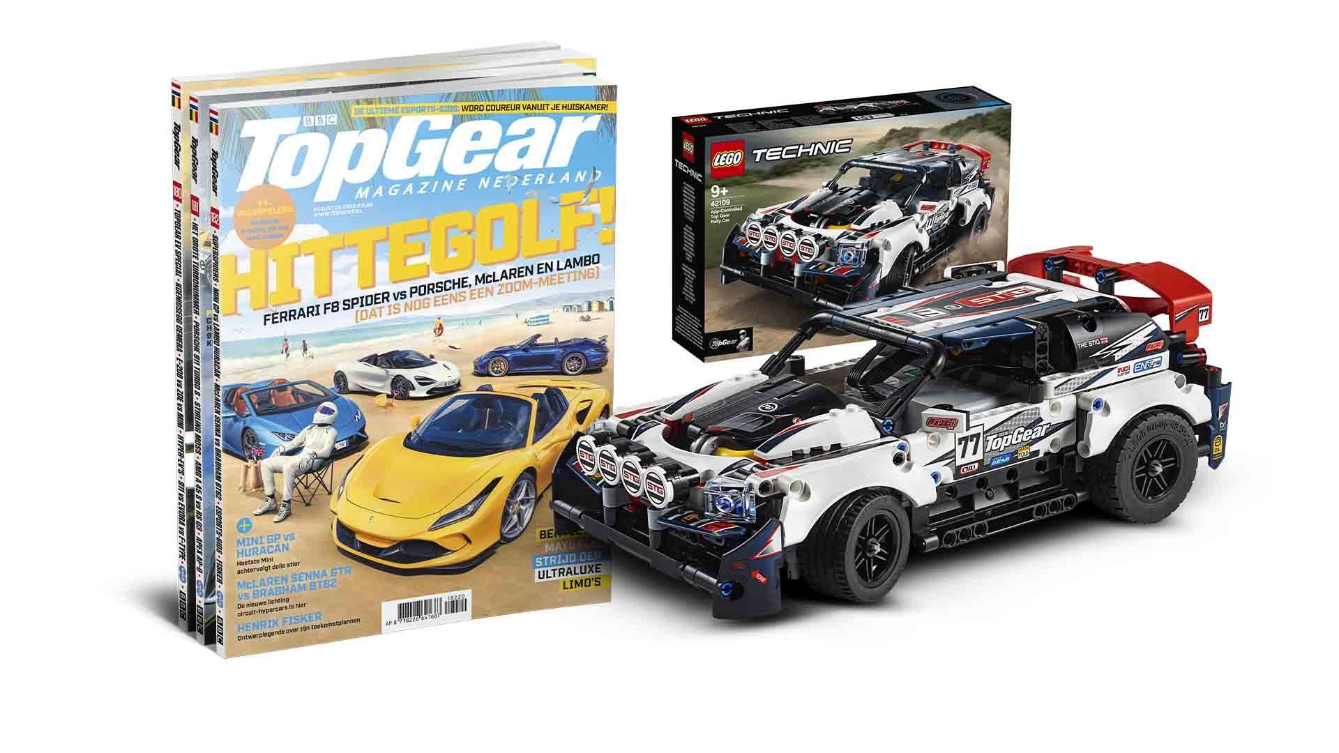 Lego TopGear Rally auto + 1 jaar TopGear Magazine