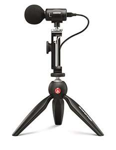 Shure MV88 + Video Kit with stereo digital condenser microphone for Apple and Android