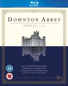 Downton Abbey seizoen 1 t/m 4 boxset voor €22,85 @ Zavvi