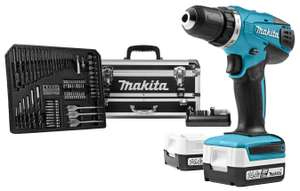 Makita boormachine + luxe opbergkoffer met accessoires