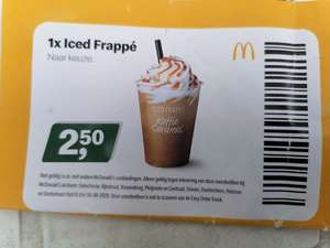 Iced Frappé & andere (geheime) McDonald's kortingscodes (week 31)