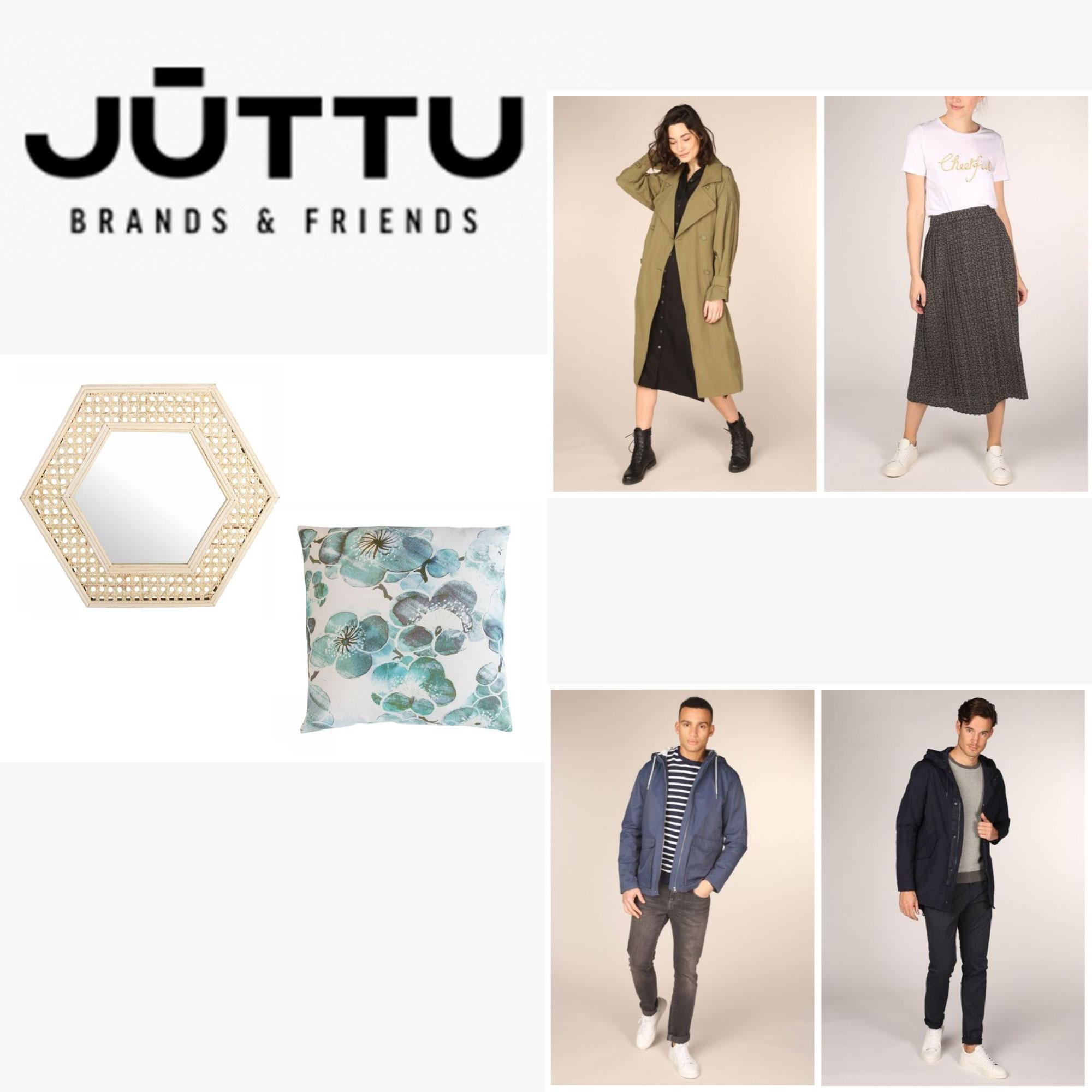 SALE tot -75% - dames / heren / home - @ JÜTTU