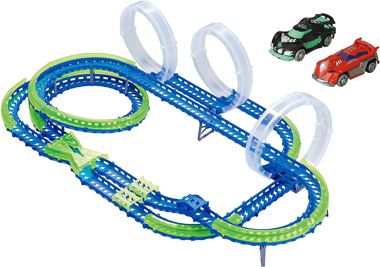 Wave Racers Speedway - autobaan met twee auto's