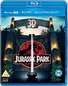 Jurassic Park 3D (3D + 2D Blu-ray discs) voor €11,42 @ Zavvi