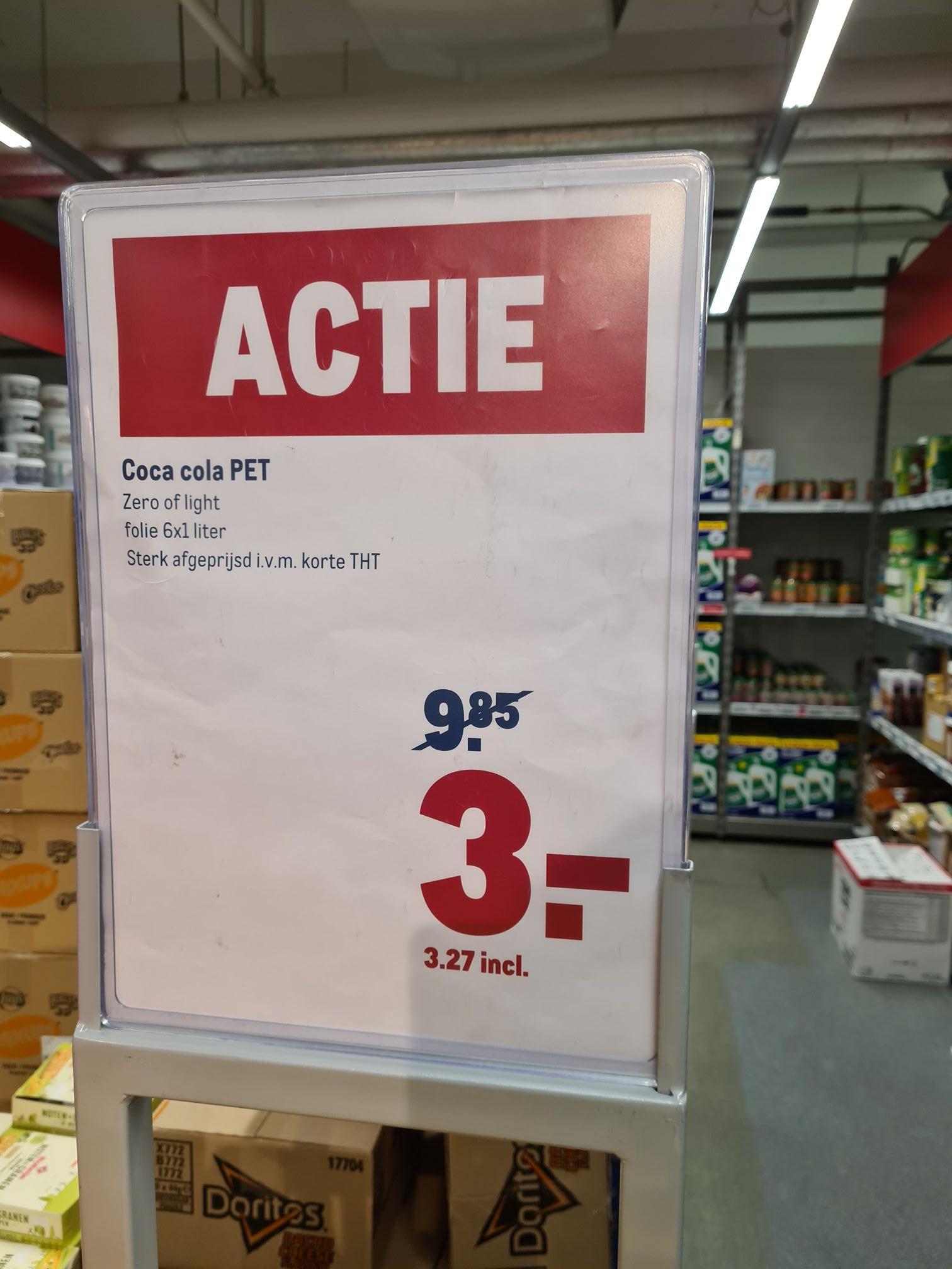 Makro Amsterdam zolang de voorraad strekt coca cola