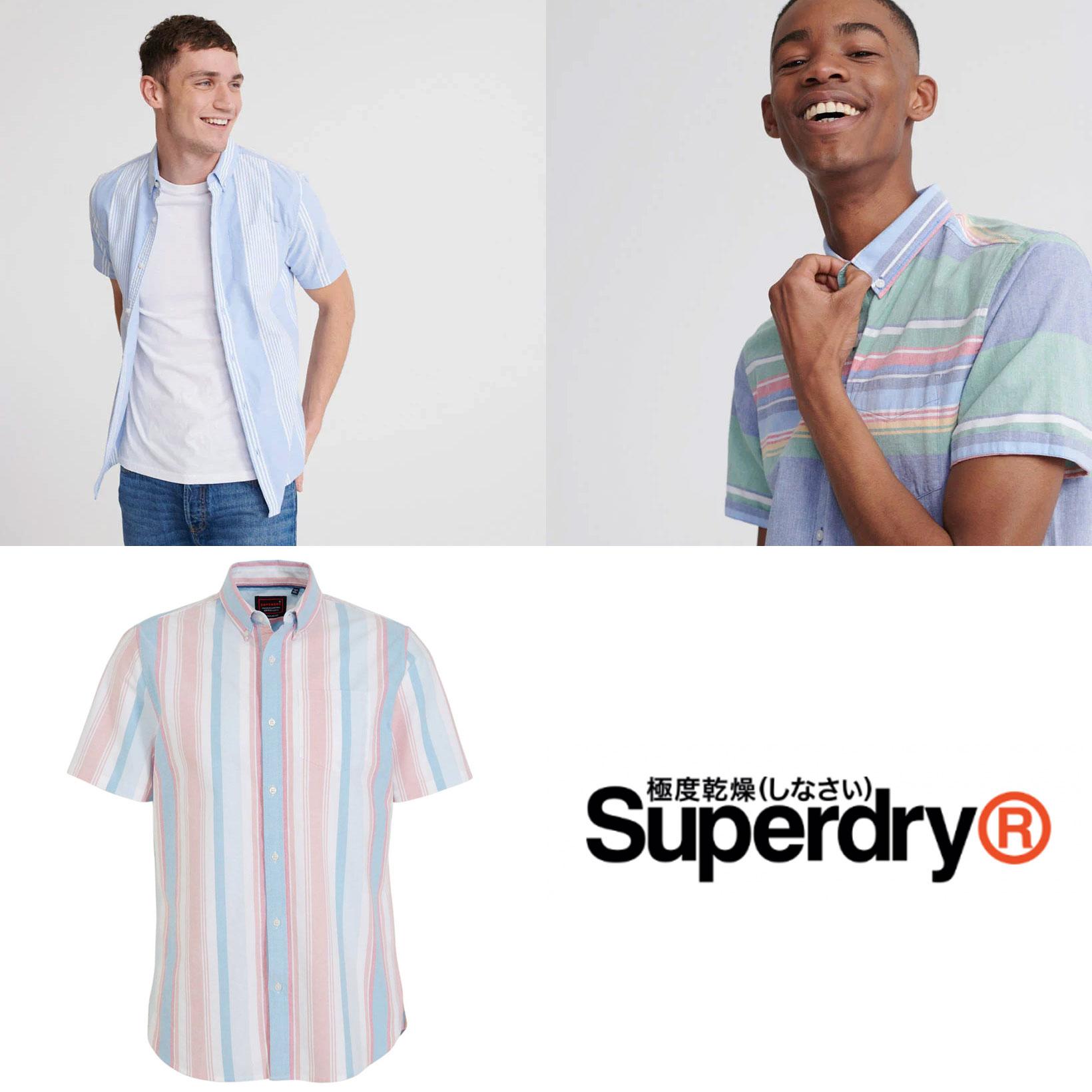 Superdry heren overhemden -70% @ Wehkamp