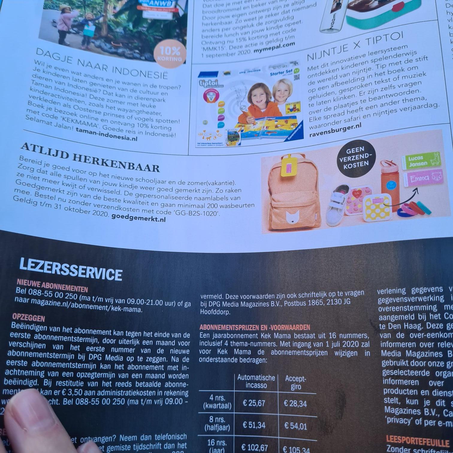 Goedgemerkt.nl code voor gratis verzending