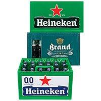 AH: 3 voor €26,97 Heineken, Heineken 0.0 en Brand pils krat