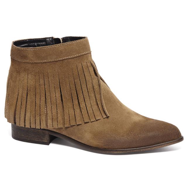 Suède fringe boots €22,45 @ Van Haren (inclusief verzending!)