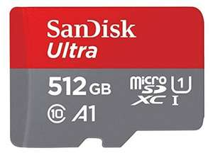 SanDisk Ultra Micro SDXC 512GB - UHS1 & A1 - met adapter