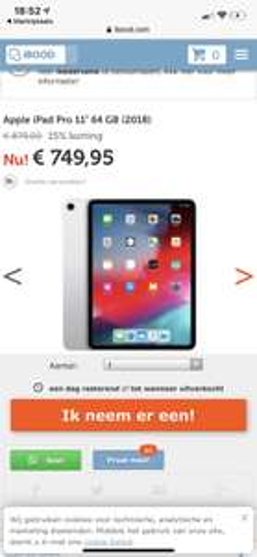 iPad Pro 64 gb