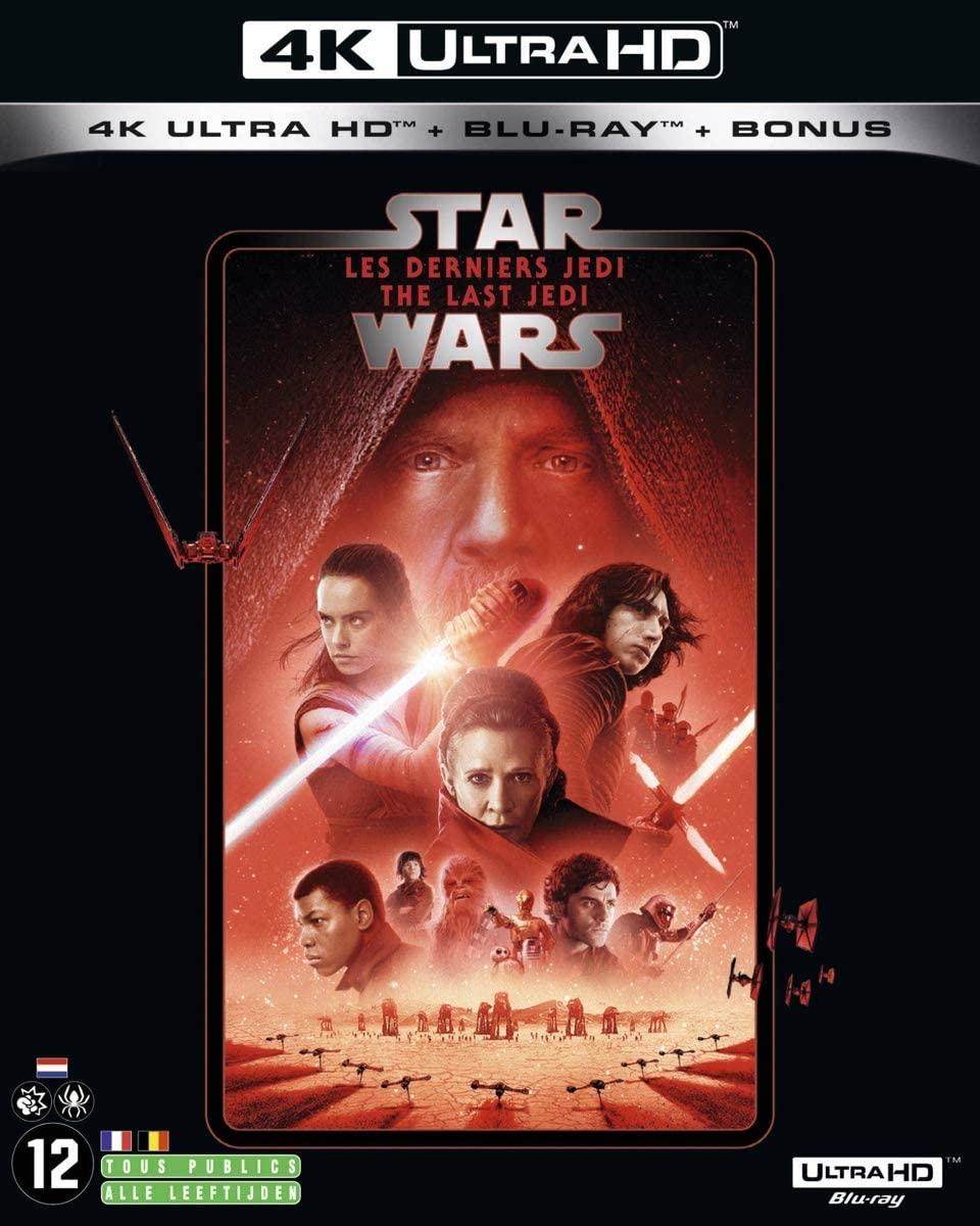 Star Wars 4K Blu-rays voor €16,12