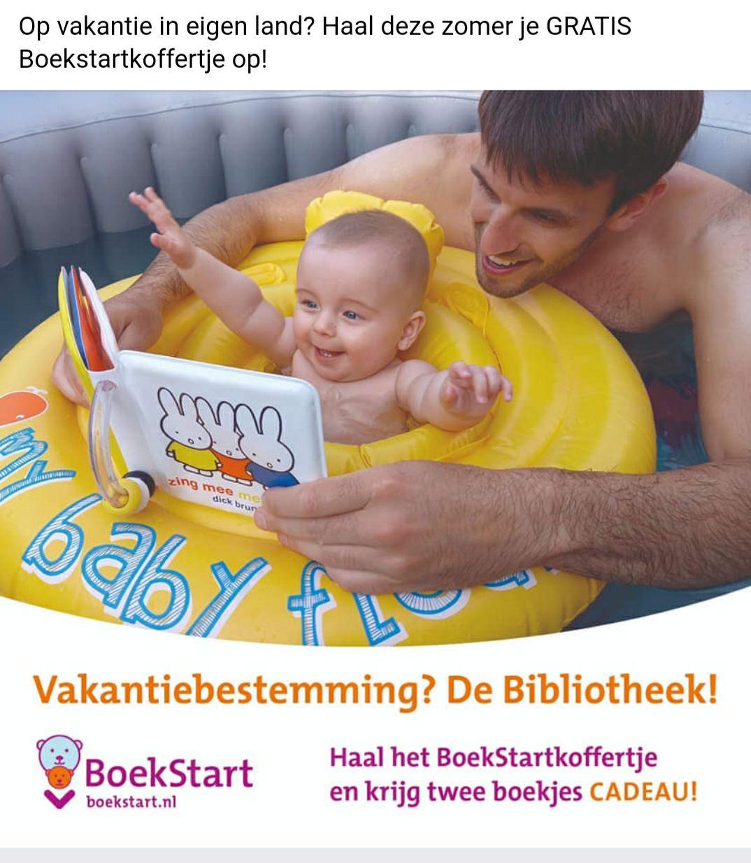 Gratis boekstartkoffertje ophalen met 2 gratis boekjes