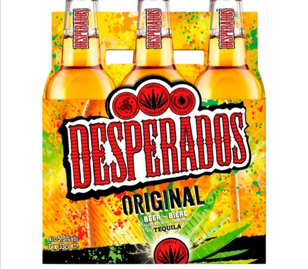 Desperados 2x sixpack voor 7,99 Nettorama