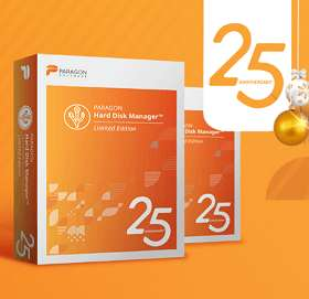 Gratis Paragon HDD Manager 25th Anniversary Limited Edition