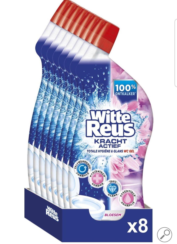Witte reus toiletreiniger 8x