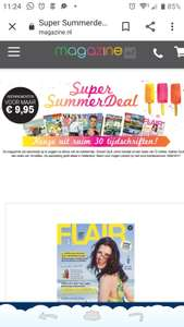 Magazine.nl 4/6 nummers voor €2,07 na cashback. Anders €9,95