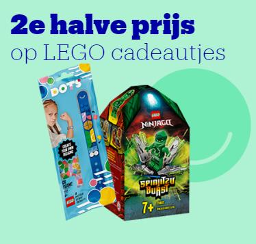 47 verschillende LEGO-sets elke tweede voor de halve prijs (-25% op totaal) @ bol.com