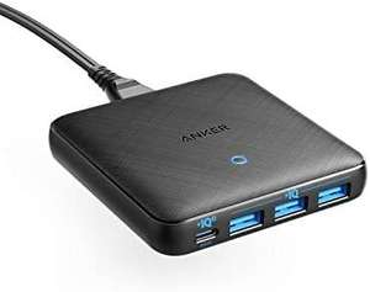 Anker PowerPort Atom III Slim USB-C oplader, 65W 4-poorts PIQ 3.0
