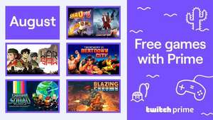 Gratis PC games van augustus @ Twitch Prime