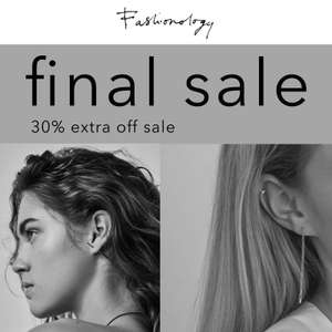 SALE -50% + 30% EXTRA @ Fashionology