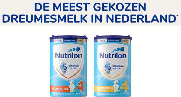 €4 retour op Nutrilon Babyvoeding nr. 4