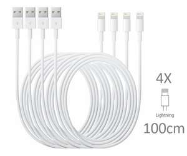 4X Originele lightning kabel