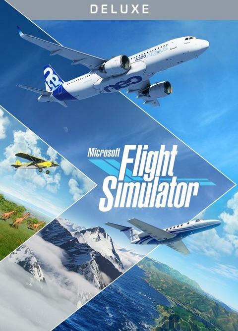 Microsoft Flight Simulator 2020 - Deluxe Edition (Windows 10 Download)