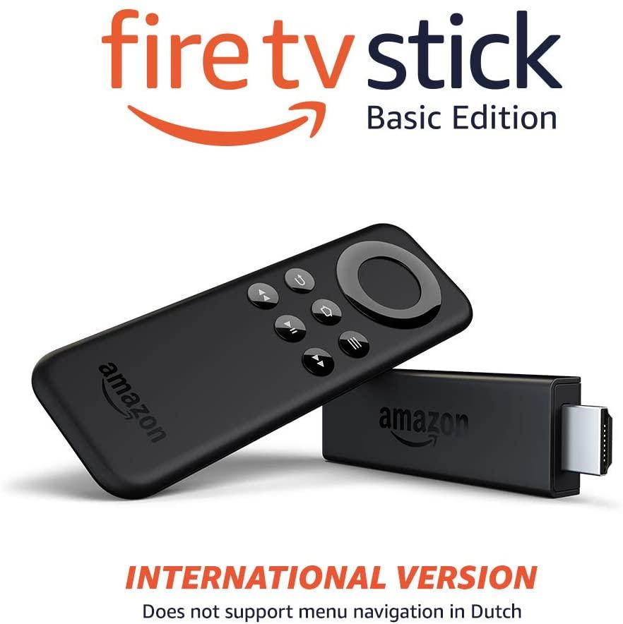 Amazon Fire TV stick basic internationaal